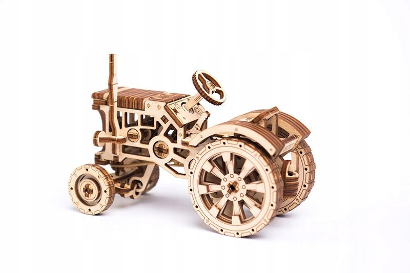 Traktor Mechaniczne Puzzle 3D Drewniane Wooden City na Arena.pl