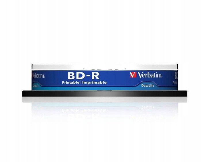 BD-R BLU-RAY 25GB VERBATIM 6x Printable na Arena.pl