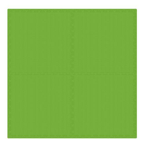 PUZZLE PIANKOWE MATA 4szt 62x62x1,1 cm Zielony na Arena.pl