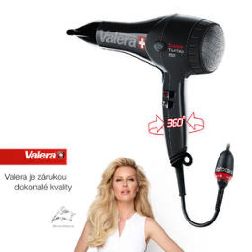 Suszarka do włosów Valera Swiss Turbo ST 7000 RC Czarny zdjęcie 3