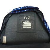 Trzykomorowy plecak szkolny St.Right 29 L, Pixelmania Blue BP4 zdjęcie 3