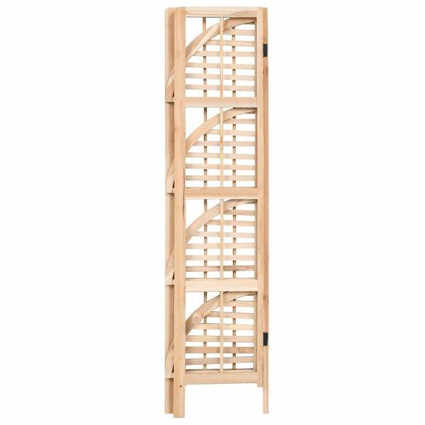 Regał Narożny Z Drewna Cedrowego, 27 X 27 X 110 Cm zdjęcie 3