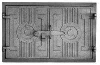 Drzwiczki żeliwne chlebowe nr2; 43x27cm