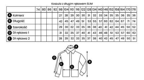 Biała koszula chłopięca, krótki rękaw 176 na Arena.pl