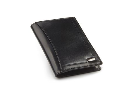 Etui skórzane slim cienkie na karty z ochroną kart RFID Zagatto 026
