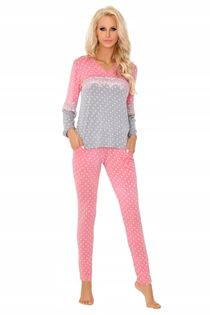 Piżama Mayte L/XL wiskoza długi rękaw spodnie