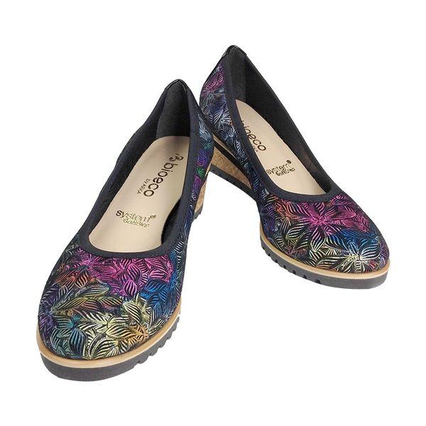 77755a8b Czółenka ARKA 5361 kolorowe Rozmiar obuwia - 37, Kolor - Kolorowy zdjęcie 2