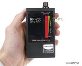 Wykrywacz podsłuchów, kamer i lokalizatorów GPS RF-750