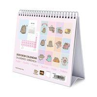 Pusheen - Rose Collection luksusowy kalendarz (17 x 20cm)
