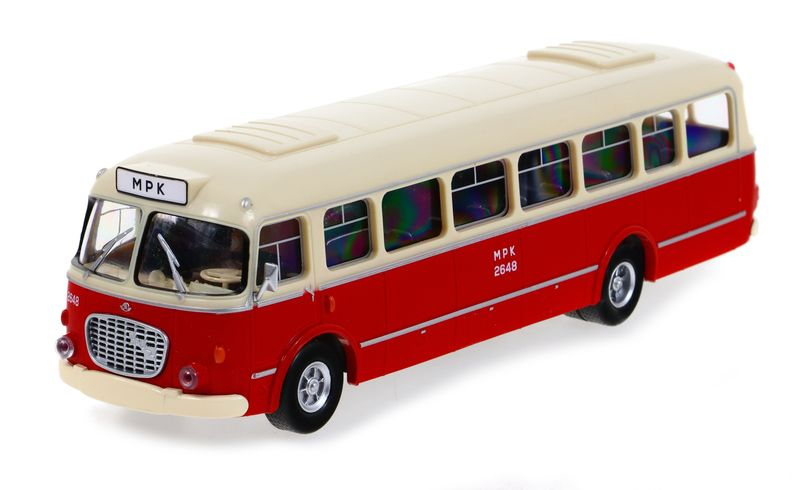 Model Kolekcja PRL AUTOBUS JELCZ 272 OGÓREK 1:43 na Arena.pl