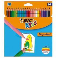 Kredki ołówkowe SZKOLNE BIC Tropicolors 24 kolory*