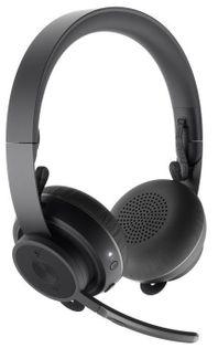 Logitech Zestaw Słuchawkowy Zone Wireless Plus - Graphite - Emea