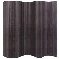 Bambusowy parawan kolor szary 250x195cm VidaXL