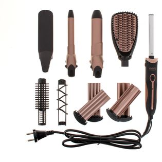 Zestaw do stylizacji włosów 5 w 1 Camry CR 2024 lokówka prostownica