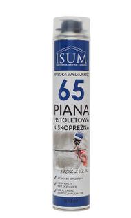 Piana XXL 65L isum pianka NISKOPRĘŻNA montażowa