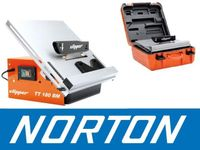 NORTON CLIPPER TT180 BM PIŁA PILARKA PRZECINARKA DO CERAMIKI GLAZURY PŁYTEK BUDOWLANA + WALIZKA EWIMAX - OFICJALNY DYSTRYBUTOR - AUTORYZOWANY DEALER NORTON CLIPPER