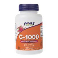 Now Foods Witamina C-1000 z bioflawonoidami - 100 tabletek