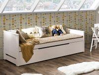 Łóżko podwójne z pojemnikiem 90 x 200 + 90 x 197 TOMI