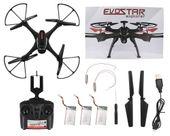 DRON EVOSTAR Explorer RQ77-14W z Kamerą WiFi 6Axis 3Aku Czarny Z25C zdjęcie 12