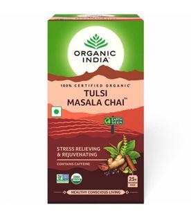 Herbata Tulsi Masala Organic India (25 torebek)