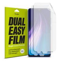 Ringke Dual Easy Matte Film 2X Łatwa W Przyklejeniu Matowa Folia Paper-Like Xiaomi Redmi Note 8T / Redmi Note 8