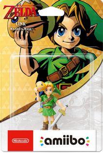 Amiibo - Link: Majora Mask - 3DS WiiU Switch