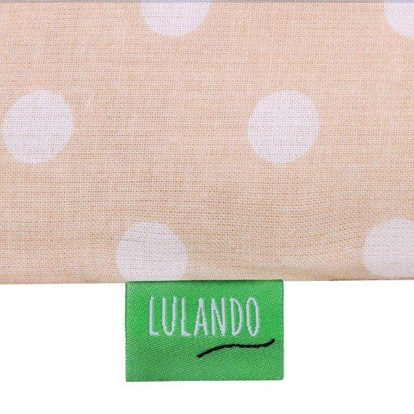 Lulando Mata na przewijak, Kropki Beżowe, 75x85 cm zdjęcie 5