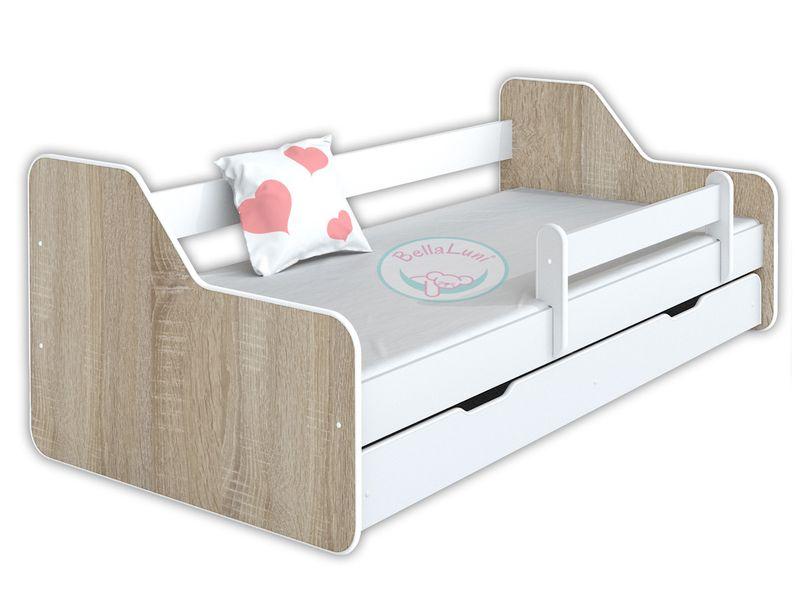 Łóżko dla dzieci DIONE II 160x80 - dąb sonoma na Arena.pl