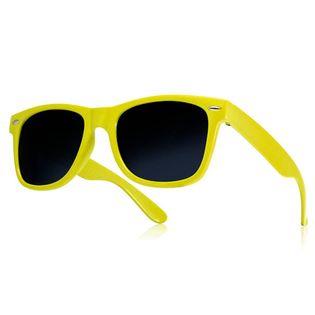 Okulary przeciwsłoneczne WAYFARER nerdy kujonki # ŻÓŁTE