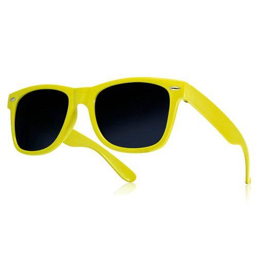22b03aba9e5d7b Okulary przeciwsłoneczne WAYFARER nerdy kujonki # ŻÓŁTE • Arena.pl