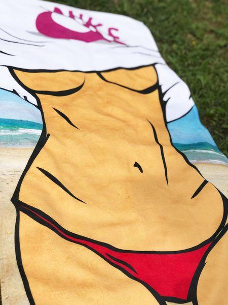 Odjazdowy ręcznik na plażę siłownię prezent HIT 24 na Arena.pl