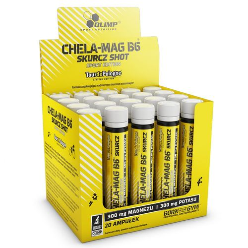 Chela-Mag B6 Skurcz Shot SPORT EDITION 25 ml WIŚNI na Arena.pl