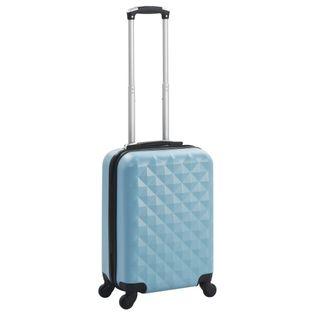 Twarda walizka niebieska ABS VidaXL