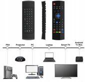 Pilot MX3 PRO Smart TV Air Mouse BOX TV Z MIKROFON zdjęcie 5