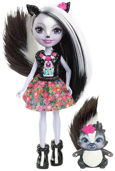 Enchantimals Sage Skunk Lalka + zwierzaczek skunks Mattel DYC75 DVH87 zdjęcie 1