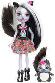 Enchantimals Sage Skunk Lalka + zwierzaczek skunks Mattel DYC75 DVH87