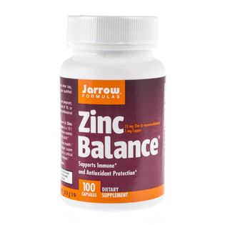 Jarrow Formulas Zinc Balance (Cynk) - 100 kapsułek
