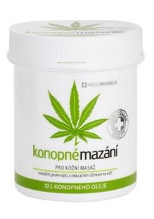 Maść Medicprogress 10% oleju onopi (Zielona 250ml)