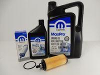 MOPAR 5W20 6L + FILTR OLEJU CHRYSLER 300C 3.6L V6 2014-