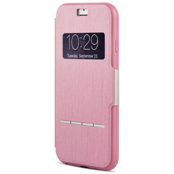 Moshi SenseCover Etui z klapką dotykową iPhone 6s Plus iPhone 6 Plus (różowy)