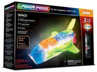 Laser Pegs Świecące Klocki 3W1 Space 3D Box Kosmos 31010