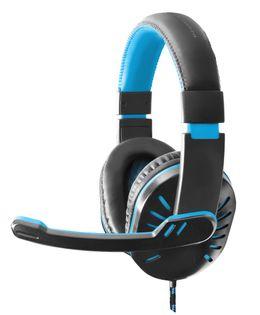 EGH330B Esperanza słuchawki z mikrofonem gaming crow niebieskie