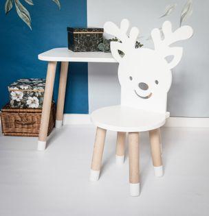 Krzesło krzesełko renifer dla dzieci