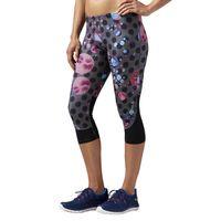 Spodnie 3/4 Reebok Running Essentials Capri damskie legginsy getry sportowe S