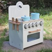 Drewniana Kuchnia Dla Dzieci MINI - ZESTAW NOWOŚĆ zdjęcie 3