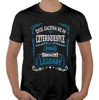Koszulka męska na urodziny 30 40 50 60 70 lat XXL UR29