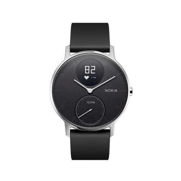 Nokia Activité Steel HR - smartwatch z pomiarem pulsu (czarny 36mm) na Arena.pl