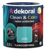 Dekoral Clean & Color 2,5L LAZUROWY SZANTUNG