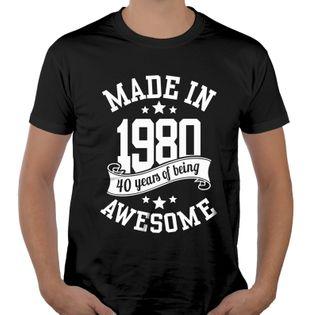 Koszulka męska na urodziny 30 40 50 60 70 lat L ur03