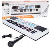 Keyboard Organy Elektroniczne Mikrofon 49 klawiszy Nauka U19